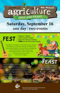 Greeley Ag Fest and Feast @ Greeley Union Pacific Railroad Depot | Greeley | Colorado | United States