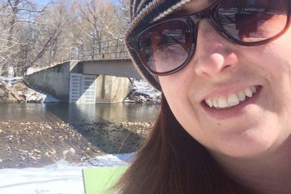 Emily Pitner - river gage