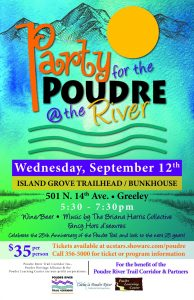 Party For The Poudre @ The River @ Island Grove Bunkhouse | Greeley | Colorado | United States