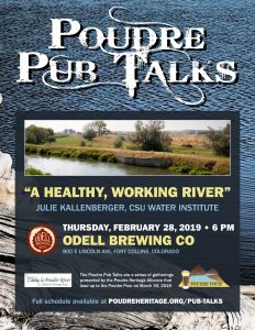 Poudre Pub Talk: A Healthy, Working River @ Odell Brewing | Fort Collins | Colorado | United States