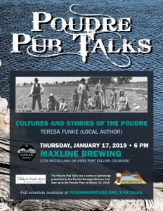 Poudre Pub Talk: Cultures and Stories of the Poudre @ Maxline Brewing   Fort Collins   Colorado   United States