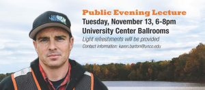 Schulze Speaker Series with Chad Pregracke, CNN Hero of the Year (2013) @ University Center Ballrooms   | Greeley | Colorado | United States