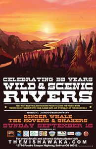 Wild & Scenic Rivers 50th Anniversary @ The Mishawaka | Bellvue | Colorado | United States