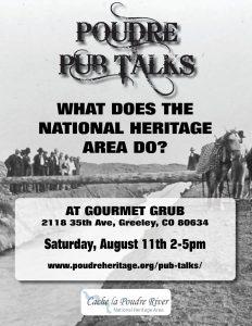 Poudre Pub Talk @ Gourmet Grub | Greeley | Colorado | United States