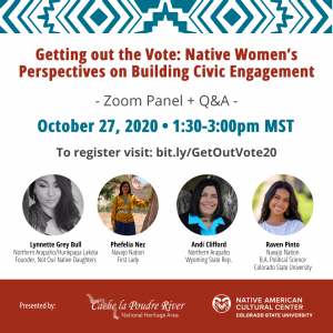 "Webinar: ""Getting out the Vote: Native Women's Perspectives on Building Civic Engagement"""