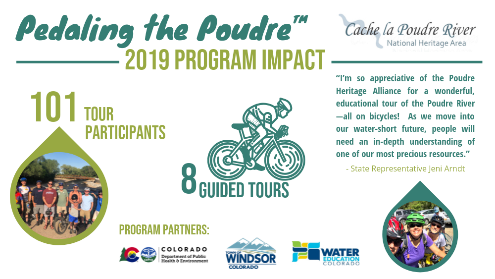 pedaling the poudre_program impacts 2019