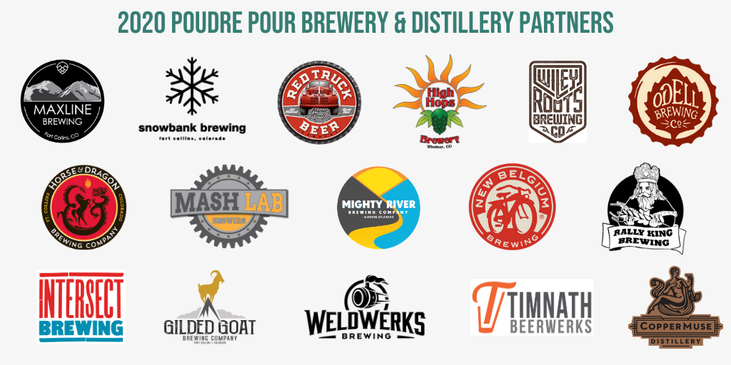 Poudre Pour 2020 brewery partners